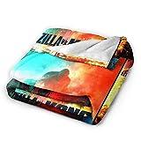 Plush Throw Blanket Super Soft and Cozy Fleece Blanket...