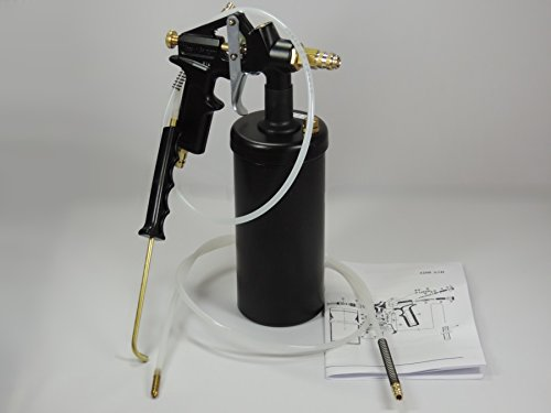 Druckbecherpistole Vaupel 3200 ASKR mit Hakendüse und Hohlraumschlauch