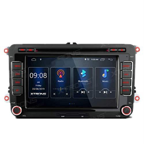 Android 10 Doble 2 DIN Radio Estéreo para automóvil Reproductor de DVD Pantalla táctil de 7 pulgadas Navegación GPS DSP integrado Admite RCA completo AutoPlay MirrorLink BT5.0 1080P DVR DAB + OBD par