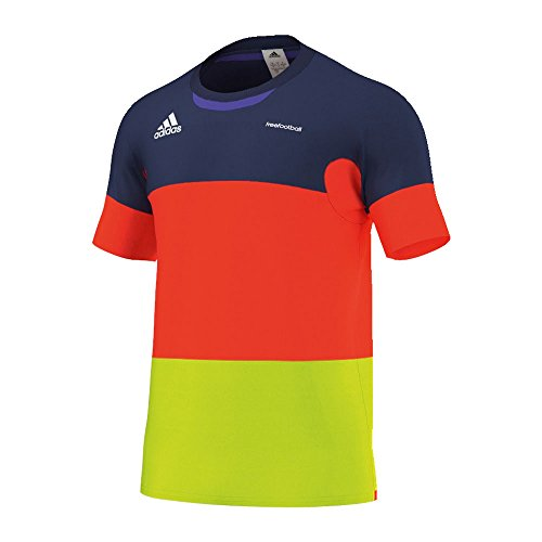 adidas Freefootball - Camiseta, Color Multicolor (Solar Red), Talla s