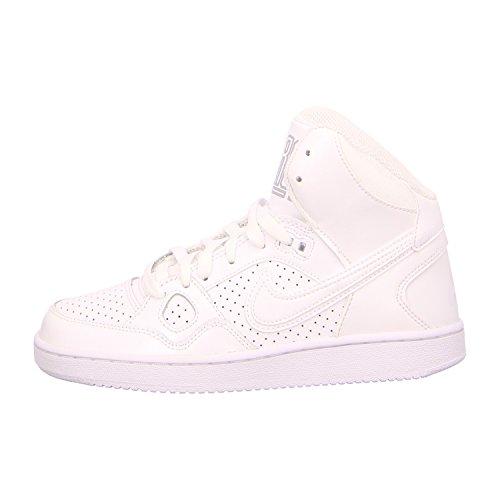 Nike Wmns Son of Force Mid, Scarpe da Basket Uomo, Bianco (White/White/Wolf Grey 110), 37.5 EU