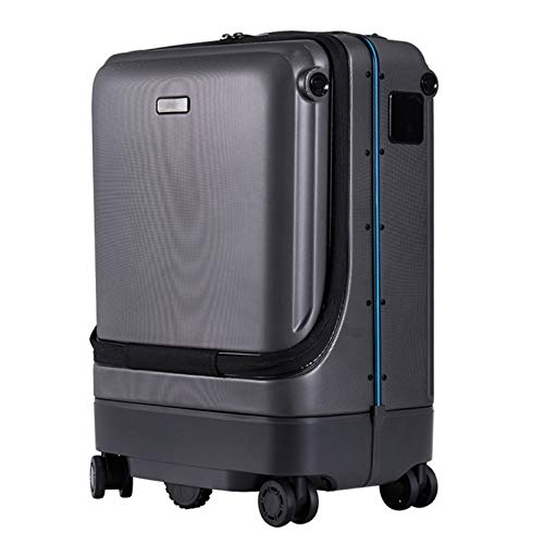 LLTFFFHM Auto-Follow Smart Luggage Suitcase with USB Charging Ports, for Adult Boarding, Traveling.