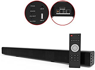 Laser SPK-SB120 Optical Soundbar with FM and Bluetooth