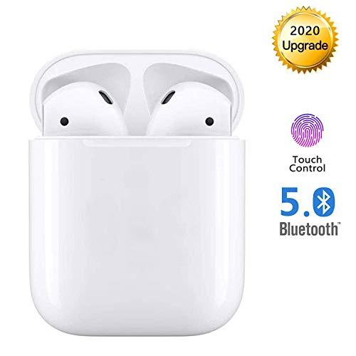 Bluetooth Kopfhörer, In-Ear-Bluetooth-Headset 3D Stereo-kopfhörer Sport Kabellose Kopfhörer mit Portable Mini Ladekästchen und Integriertem Mikrofon Kompatibel mit Apple Airpods Android/iPhone