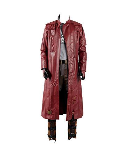 Guardians of The Galaxy 2 Peter Jason Quill Starlord Cosplay Kostüm nur Mantel Herren XXL