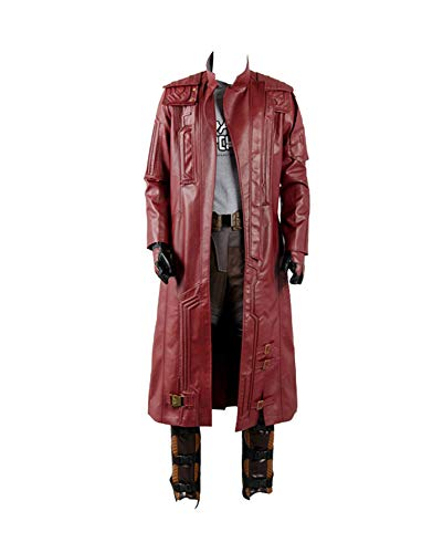 Guardians of The Galaxy 2 Peter Jason Quill Starlord Cosplay Kostüm nur Mantel Herren XL