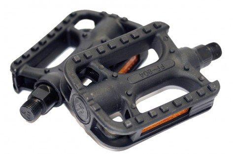 BIKE ORIGINAL Hybrid Bicycle Pedals Non-Slip Plastic