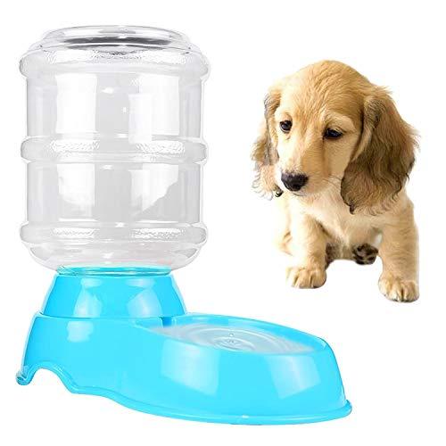 Qiuge Waschbecken Hanging Type Wasserspender Kreative Haustier Automatische Trinkwasserzufuhr Universal Katze und Hundefutter Becken Wasserwerkzeuge (Color : Blue)