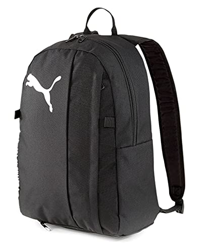 Puma teamGOAL 23 Backpack with Ball Net Sac à Dos Mixte Adulte, Black, Taille Unique