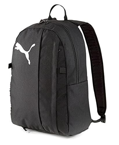 PUMA teamGOAL 23 Backpack with Ball Net, Zaino Unisex-Adult, Black, 48x37x8 cm