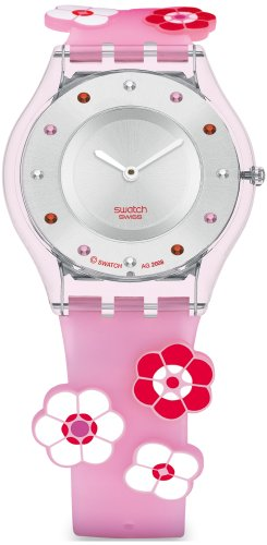 Swatch SFP111 - Orologio da polso da donna, cinturino in caucciù...