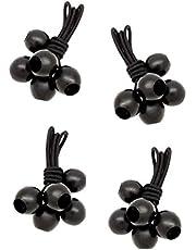 LUCIAMO ® spanrubbers - het slimme alternatief voor kabelbinders - met bal balletje | snelbinders | elastieken