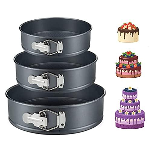 Lekvrije Ronde Cakevorm Verwijderbare Bodem Bakvormen Cakevorm springvorm Een zwarte stalen bakvorm Non stick Cakevormen…
