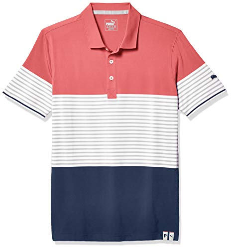 PUMA Polo Taylor 2020 pour Homme Taille XXL Rose