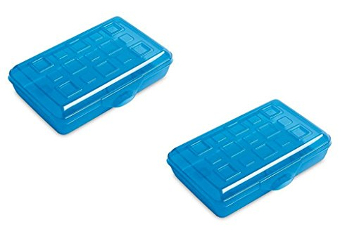Sterilite School Boxes (Pencil Box, Pack of 2) (17224812)
