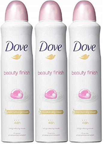 Dove Deodorant Spray Beauty Finish 5.07 oz (3 Pack)