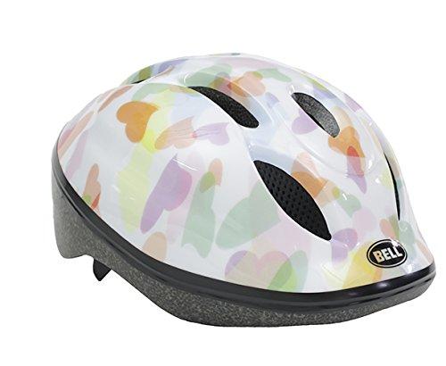 BELL(ベル) ヘルメット 自転車 サイクリング 子供用 ZOOM2 [ズーム2 ホワイトハーツ M/L 7072841]