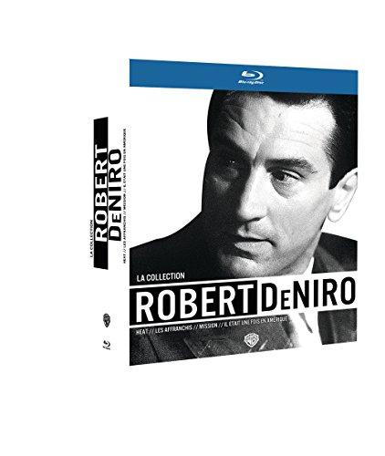 La Collection Robert De NIRO-Il était Une Fois en Amérique + Les affranchis + Heat + Mission [Blu-Ray]