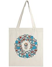 東京2020オリンピック トートバッグ おしゃれ エコバッグ 可愛い キャンバス袋 キャンバスバッグ ハンドバッグ A4 肩掛け 大容量 軽量 手提げ 通勤 通学 旅行 収納バッグ 応援キャンバスバッグ グッズ 赠り物