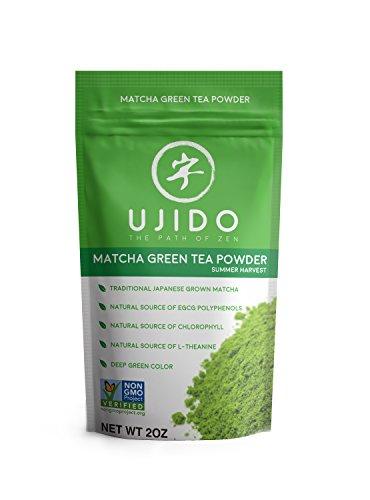 Ujido Japanese Matcha Green Tea - Summer Harvest - High Culinary Grade (2 Ounce)