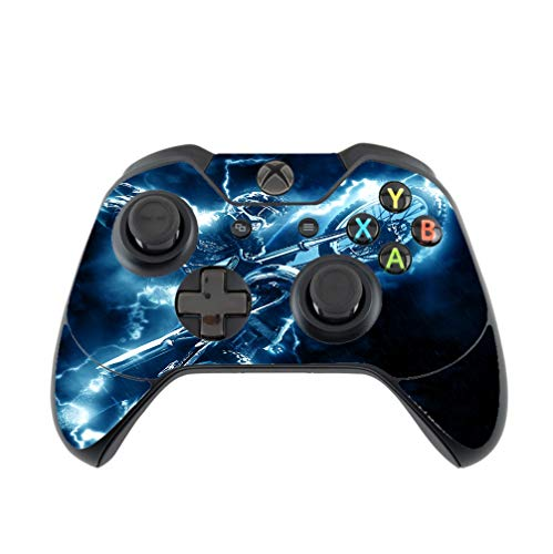 Dirt Bike Dirtbike Electric Lightning Trick Vinyl Decal Sticker Skin by Moonlight Printing for Xbox One Controller