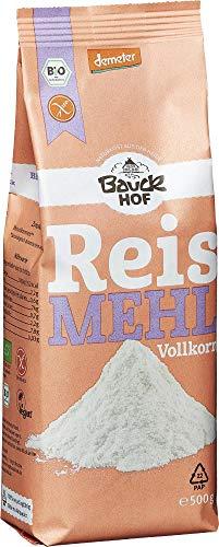 Bauckhof Bio Bauck Reismehl, VK, glutenfrei (2 x 500 gr)