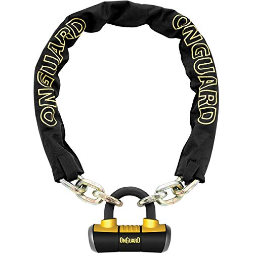 ONGUARD Mastiff Chain with X4 Padlock (6'/10mm)
