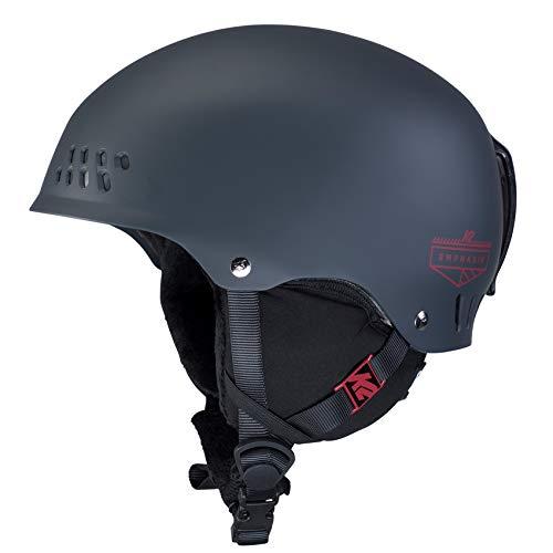 K2 Skis Damen Emphasis Größe: S-10D4008.4.1 S Skihelm/Snowboardhelm, slate blue, S