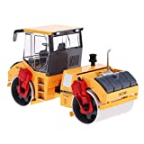 Yiju 1:50 Scale Diecat Alloy Engineering Rolling Road Roller Model Toy Home Decor