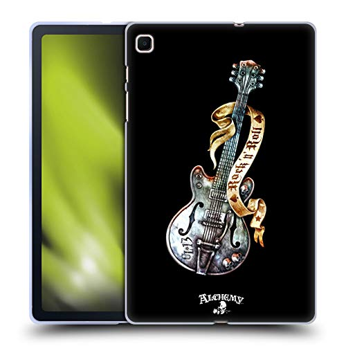 Head Case Designs Ufficiale Alchemy Gothic Chitarra Rock ' it 56 Raffigurazioni Cover in Morbido Gel Compatibile con Samsung Galaxy Tab S6 Lite