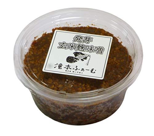 発芽玄米麹味噌 400g×2パック 手仕込み 農薬 化学肥料不使用の玄米を使用した玄米麹味噌 玄米味噌 みそ 味噌