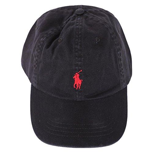 Casquette Ralph Lauren noire pour homme
