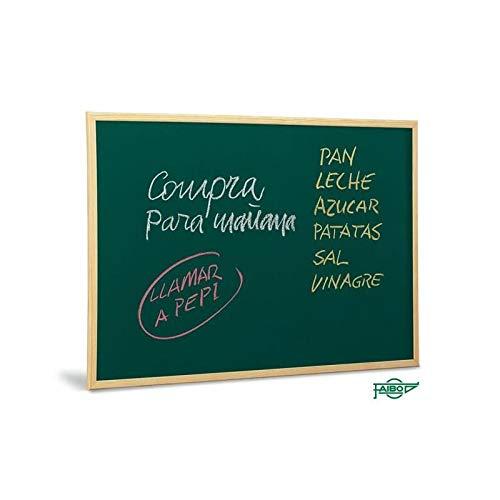 Faibo E-Pizarra Verde 60x90.M.Madera