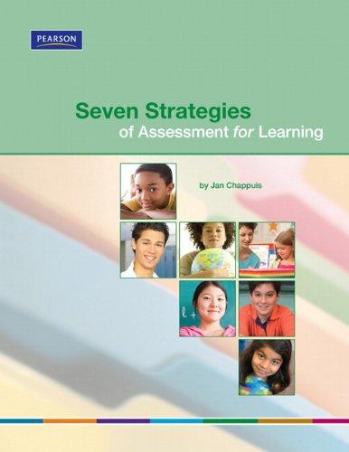 Seven Strategies of Assessment for Learning (Assessment...
