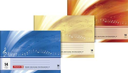 Brunnen 1046331Ordenador–Cuaderno (A5, 8hojas, línea 14, con extra páginas)