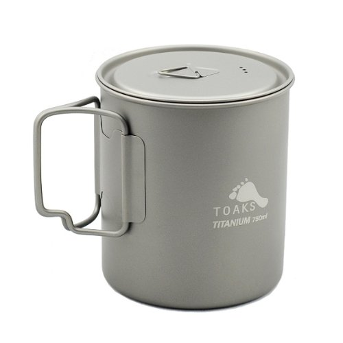 Titanium 750ml Pan