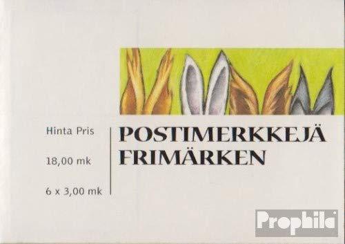 Prophila Collection Finnland 1463-1464Fb (kompl.Ausg.) Folienblatt 1999 Valentinstag (Briefmarken für Sammler)