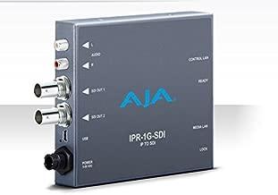 AJA IPR-1G-SDI JPEG 2000 IP Video and Audio to 3G-SDI Converter