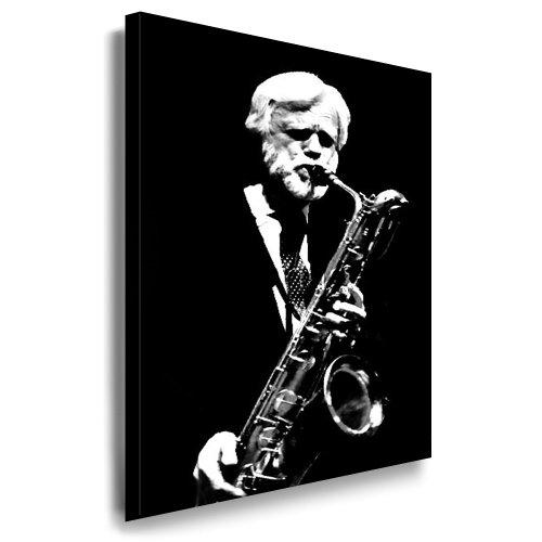 fotoleinwand24 Gerry Mulligan Quadro 100 x 70 cm