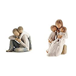 Willow Tree collection by Susan Lordi Figurative sculptures representing sentiments of love Hand-made and hand-painted Crafted to create a carved wood effect Willow Tree collection by Susan Lordi Hand-made and hand-painted using lead-free paint Craft...