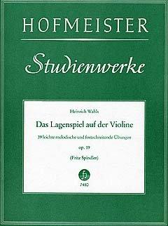 DAS LAGENSPIEL OP 19 - arrangiert für Violine [Noten/Sheetmusic] Komponist : WAHLS HEINRICH