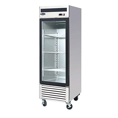 Armoire Réfrigérée Vitrée Négative - 610 L - Atosa - 1 Porte Vitrée