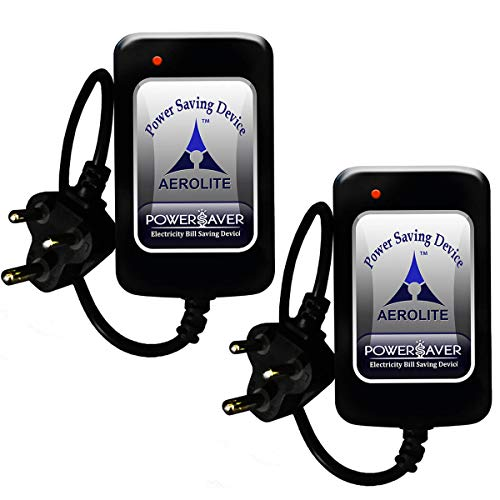 AEROLITE ELECTRICAL SOLUTION (AERO02KC) - Power Saver (1KW) - Electricity Saving Device (Electricity Saver) for Reduce Your Electricity Bill (Pack of 2)