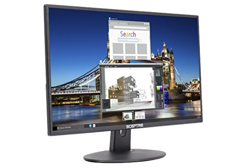 "Sceptre 20"" 1600x900 75Hz Ultra Thin LED Monitor 2x HDMI VGA Built-in Speakers, Machine Black Wide Viewing Angle 170° (Horizontal) / 160° (Vertical)"