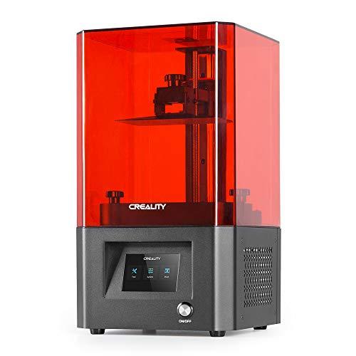 Impresora 3D de Resina LCD monocromática Creality LD-002H Oficial Impresora 3D SLA de fotopolimerización UV con LCD Monocromo 2K de Alta precisión y Gran tamaño de impresión 5.12x3.23x6.3inch