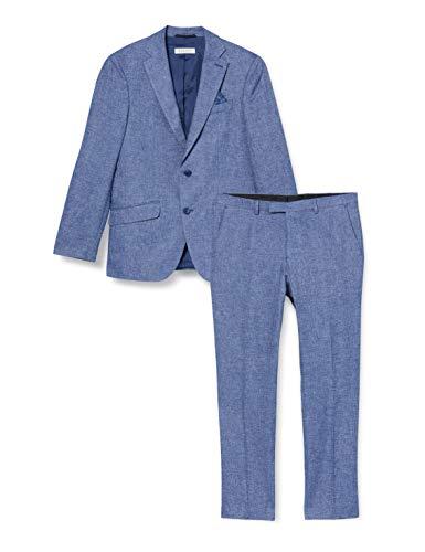 Bugatti Herren 584500-59460 Anzug, Blau (Marine 370), (Herstellergröße: 106)