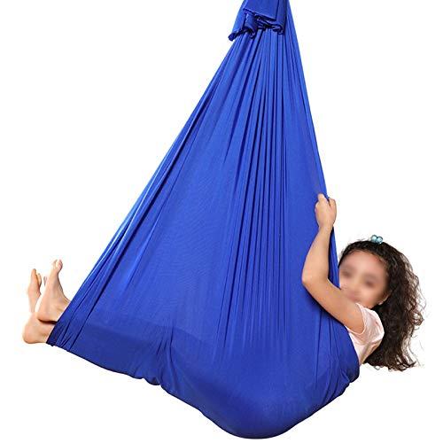 QHY Hamaca para Niños Swing de Terapia Columpio De Terapia Interior Niños Y Adolescentes Hamaca Suave con Necesidades Especiales para Niños Yoga Integración Sensorial Camping Al Aire Libre