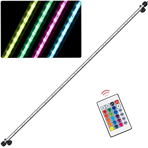 SHUIBIAN Iluminación LED RGB para acuario de 98 cm, para plantas, resistente al agua IP68, enchufe europeo