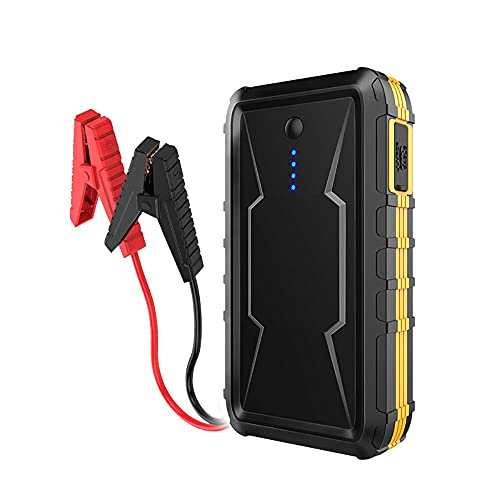 Arrancador de Coches, Fuente de alimentación de Emergencia para automóviles Inteligente, arrancador de batería de 12V de automóvil Coche de Carga de automóviles Banco de energía móvil, WQQWQQ-8521