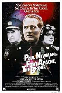 Fort Apache, The Bronx Original 27 X 40 Theatrical Movie Poster